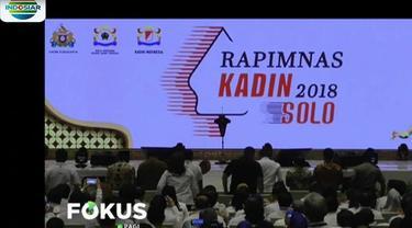 Hadir juga dalam acara penutupan ini Mensesneg Pratikno, Menperin Airlangga Hartato, serta Menteri Pertanian Amran Sulaiman.