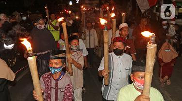 Pawai Obor Sambut Peringatan Tahun Baru Islam