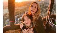6 Momen Harmonis Noah Sinclair Bareng Bunga Citra Lestari, Berbagi Tawa (sumber: Instagram.com/bclsinclair)