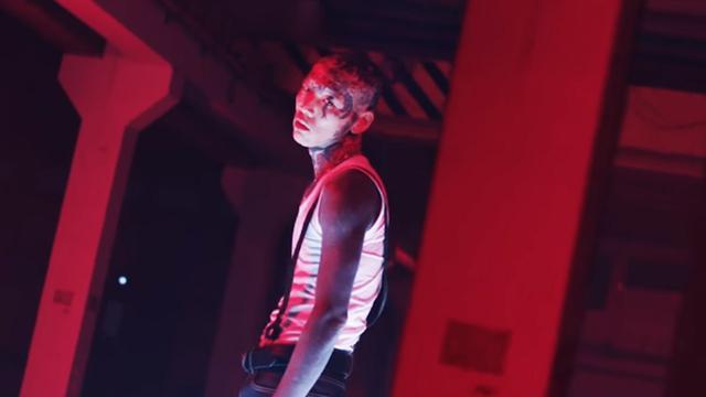 Kim Woo Young dalam videoklip RM BTS, Change (YouTube/  ibighit)