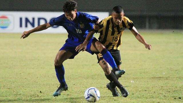Timnas Thailand U-16 vs Timnas Malaysia U-16
