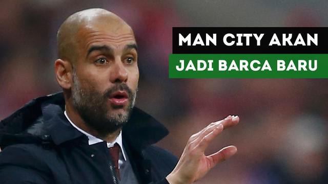 Ronaldinho mengungkapkan Pep Guardiola akan jadikan Manchester City Barcelona baru.