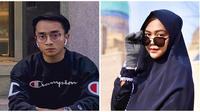 Momen Ria Ricis dan Taqy Malik jadi relawan. (Sumber: Instagram/@taqy_malik/@riaricis1795)