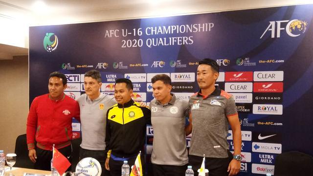 Bima Sakti, Timnas Indonesia U-16
