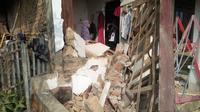 Bangunan rusak akibat gempa Banten. (Liputan6.com/Yandhi Deslatama)