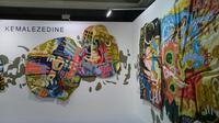 Berikut nuansa baru yang bisa dinikmati saat mengunjungi Art Jakarta 2018 yang merupakan pagelaran ke-10 tahun. (Foto: Liputan6.com/ meita fajriana)
