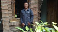 Sastrawan, budaywan, monologer Eko Tunas. (foto: Liputan6.com / Edhie Prayitno Ige)