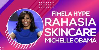 Rahasia Skincare Michelle Obama yang Bikin Awet