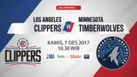 Los Angeles Clippers Vs Minnesota Timberwolves (Bola.com/Adreanus Titus)