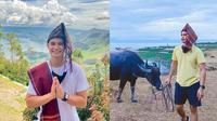 Aiman Ricky liburan ke Pulau Samosir (Sumber: Instagram/aimanrickyy)
