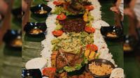 Nasi liwet (makanterusss/instagram.com)
