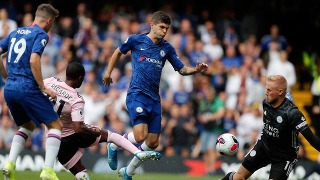 Chelsea Ditahan Imbang Leicester City 1-1