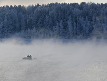 20151117-Melihat Keindahan Sungai Yenisei di Bawah Suhu Minus 20 Derajat