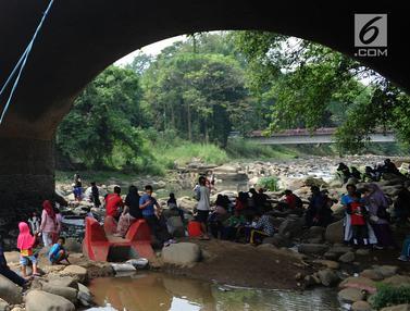 Sungai Ciliwung Jadi Tempat Wisata