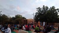 Buka puasa bersama di Sudan