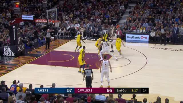 Berita video game recap NBA 2017-2018 antara Cleveland Cavaliers melawan Indiana Pacers dengan skor 115-108.
