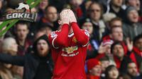 Video replay aksi heroik yang dilakukan kapten Manchester United pada laga melawan Everton yang patut diacungi jempol.