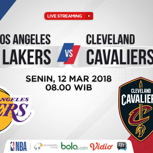 Lakers Vs Cleveland 2018 >> La Lakers Vs Cleveland Cavaliers Barisan Mantan Siap
