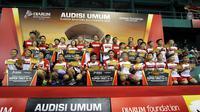 Sebanyak 25 pebulutangkis muda Manado mendapatkan Super Tiket dan layak tampil di Final Audisi Umum di Kudus, Jawa Tengah. (dok. PB Djarum)