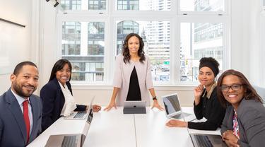 [Fimela] ilustrasi kesetaraan gender di perusahaan