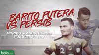 Shopee Liga 1 2018: Barito Putera vs Persib Bandung. (Bola.com/Dody Iryawan)