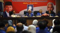 Rakernas tersebut diselenggarakan sebagai persiapan menuju Kongres PAN April 2015 mendatang, Jakarta, Rabu (7/1/2015). (Liputan6.com/Miftahul Hayat)