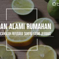 Resep Bahan Alami. (Foto: Adrian Putra, Digital Imaging: M. Iqbal Nurfajri/Bintang.com)