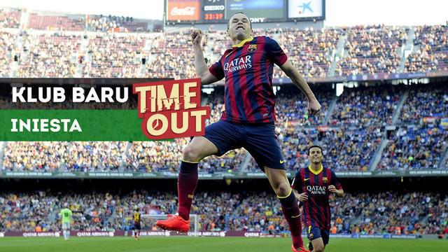Berita video Time Out kali ini tentang Andres Iniesta yang dikabarkan sudah mendapatkan klub baru setelah tak lagi bersama Barcelona.