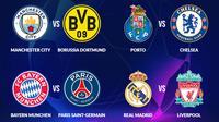 Hasil Undian Perempat Final Liga Champions 2020/2021. (Bola.com/Dody Iryawan)