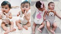 Potret Kompak Zayn Zunaira Anak Syahnaz Sadiqah yang Bikin Gemas. (Sumber: Instagram.com/syahnazs)