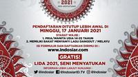 LIDA 2021 pendaftarannya ditutup lebih awal di Indosiar