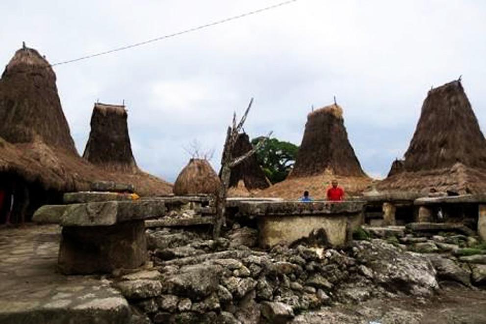 Keindahan Kampung Adat Tarung di Sumba Barat Tinggal Kenangan - Regional  Liputan6.com