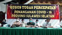 Gugus Percepatan Penanganan Covid-19 Sulawesi Selatan (Fauzan/Liputan6.com)