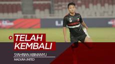 Berita video gelandang Madura United, Syahrian Abimanyu, telah kembali dari SEA Games 2019 untuk memperkuat Timnas Indonesia U-22. Kini, ia sudah bersiap untuk menghadapi Persija Jakarta di Liga 1 2019.