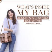 What's Inside my Bag Jessica Veranda