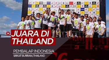 Berita video pembalap Indonesia, Andy Muhammad Fadly, menjadi juara di Sirkuit Buriram, Thailand, dalam ajang Asia Road Racing Championship (ARRC) 2019 kelas AP250 CC.