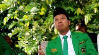 Romahurmuziy (Sekretaris Jenderal Partai Persatuan Pembangunan) (Liputan6.com/Helmi Fithriansyah)