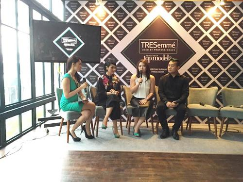 Tresemme kembali menjadi exclusive hair care partner dalam Asia's Next Top Model | Photo: Copyright Doc Vemale.com