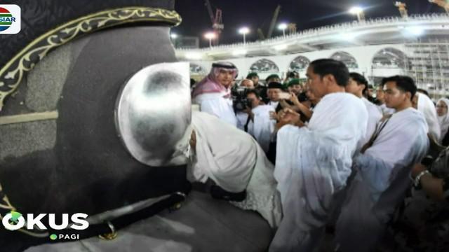 Dalam kesempatan ini, Presiden Jokowi bersama keluarga juga melakukan umrah di Mekah. Jokowi juga mendapat kesempatan untuk melihat isi Kabah.