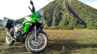 Kawasaki Versys-X 250 menjadi pionir segmen adventure-touring 250 cc di Indonesia (Rio/Liputan6.com)