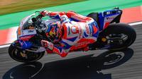Pebalap Pramac Ducati, Jack Miller, merebut pole position MotoGP Argentina setelah menjadi yang tercepat pada sesi kualifikasi, Minggu (8/4/2018) dini hari WIB. (MotoGP.com)