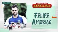 Wawancara Eksklusif - Felipe Americo. (Bola.com/Dody Iryawan)