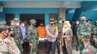 Pangdam I/BB, Mayjen TNI Hasanuddin, bersama Wakapolda Sumut, Brigjen Pol Dadang Hartanto, mengecek lokasi karantina bagi Warga Negara Indonesia (WNI) di Kota Medan