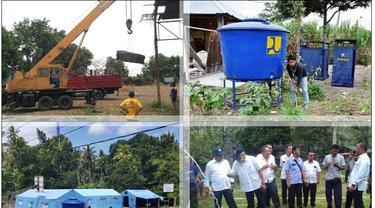 KemenPUPR Distribusikan Sarana Air Bersih ke Lokasi Pengungsi