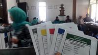 Pemungutan suara pemilu 2019 di Banyumas. (Foto: Liputan6.com/Muhamad Ridlo)