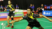 Ganda campuran Pelatnas, Alfian Eko Prasetya/Masita Mahmudin, dipaksa bermain tiga gim oleh wakil Jateng, Tedi Supriadi/Ririn Amelia.