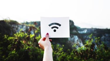 Ilustrasi wifi