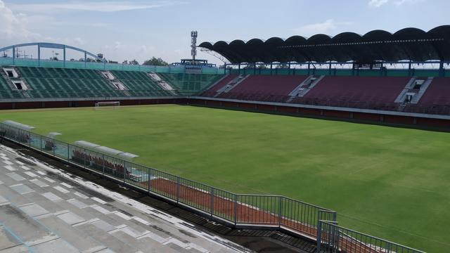 FOTO: Wajah Terkini Stadion Maguwoharjo Menyambut Piala Menpora