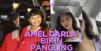 Penampilan Amel Carla Bikin Pangling, Makin Tirus dan Langsing