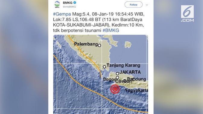 Berita Jakarta Gempa Hari Ini Kabar Terbaru Terkini Liputan6 Com